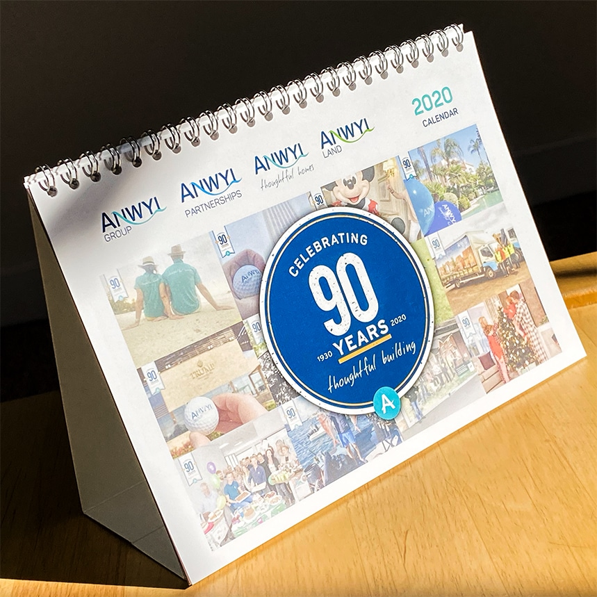 Fineline Print and Web | North Wales | Portfolio | Anwyl Construction