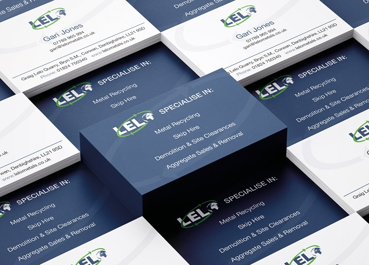 Fineline Print and Web | North Wales | Business Cards
