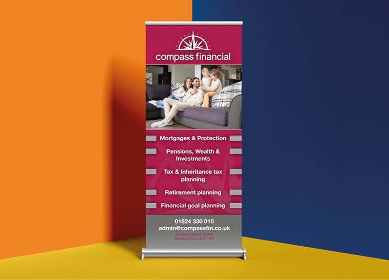 Fineline Print and Web | North Wales | Roller Banners