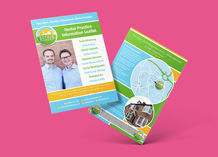 Fineline Print and Web | North Wales | Leaflets