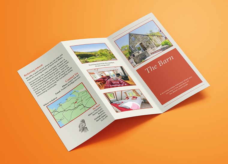 Fineline Print and Web | North Wales | Folded Flyers